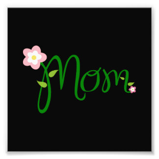 Mom Photo Print