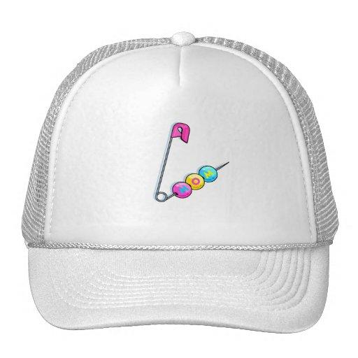 Mom (Pin) Trucker Hats