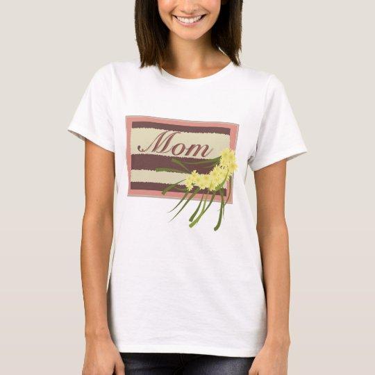 Mom Plaque T-Shirt