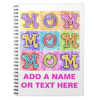 Mom Pop Art Notebook