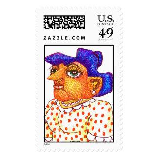 """Mom"" Postage Stamp"