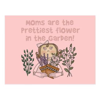 Mom Prettiest Flower in the Garden Gifts Postcard