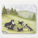 Mom & Pups Mouse Pads