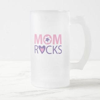Mom Rocks Coffee Mugs