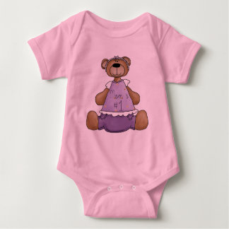 Mom´s #1 baby bodysuit