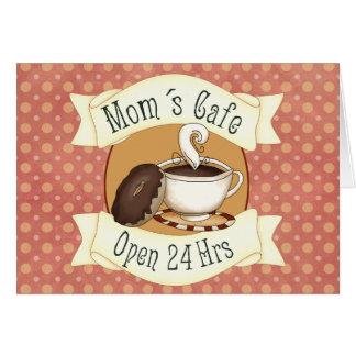 Mom´s Café Greeting Card