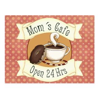 Mom´s Café Postcard