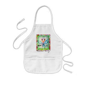 Mom`s LiL Kitchen Fairy Cute Beetle Kids Apron