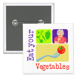 Mom Says, Eat Your Vegetables Pin