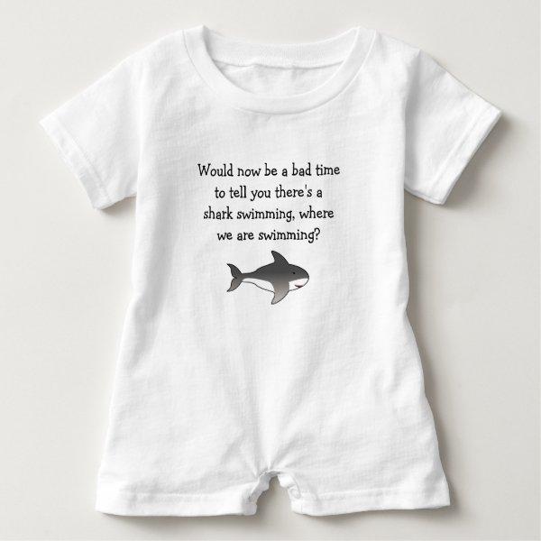 Mom...Shark! Baby Romper