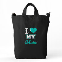 Mom Shirt: I love My Mom T-shirt for You! Tote Bag