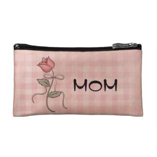 Mom Small Cosmetic Bag