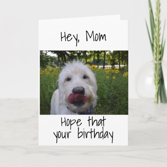 Mom So Happy To Be Your Daughter Birthday Card Zazzle