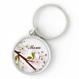 Mom Spring Blossoms Keychain keychain