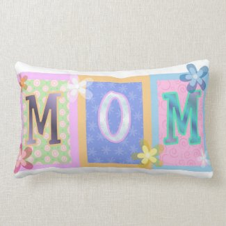 MOM Spring Design throwpillow