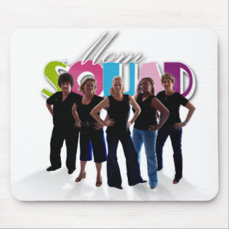 Mom Squad clear mouse pad