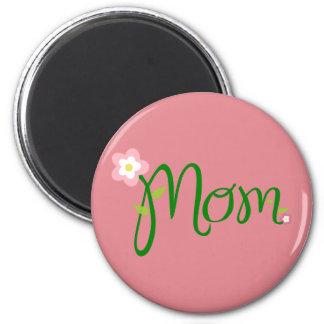 Mom Strawberry Pink Magnet