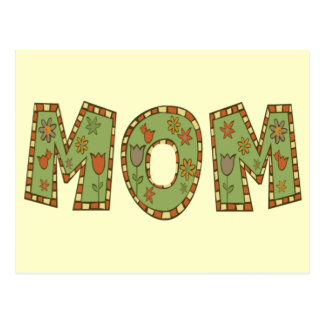 Mom T-shirts and Gifts For Her Postcard