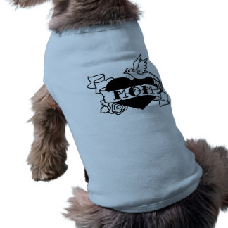 Mom Tattoo Doggie T-Shirt