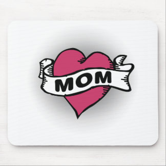 Mom Tattoo Mouse Pad