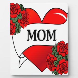 Mom Tattoo Photo Plaques