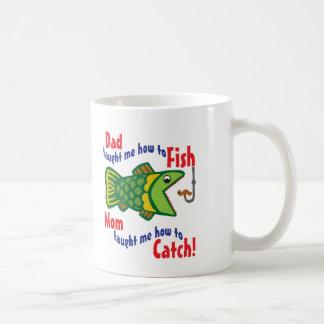Mom taught me How to Catch Coffee Mug