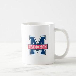 Mom team cool kid design coffee mug