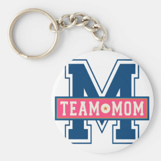Mom team cool kid design keychain