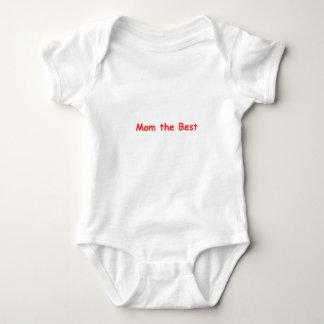 Mom the Best Baby Bodysuit