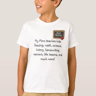 Mom the teacher T-Shirt