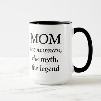 Mom the Woman, the Myth, the Legend Mug