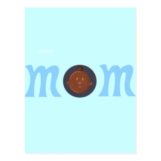 Mom to African baby Postcard