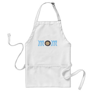 mom to Asian baby Adult Apron