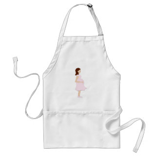 Mom To Be Adult Apron