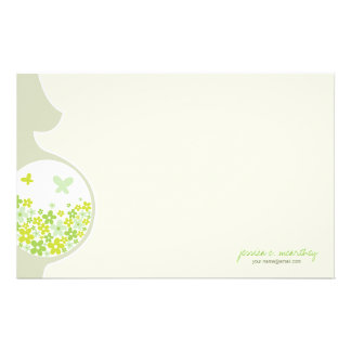 Mom To Be | Baby Neutral Thank You Note Stationery