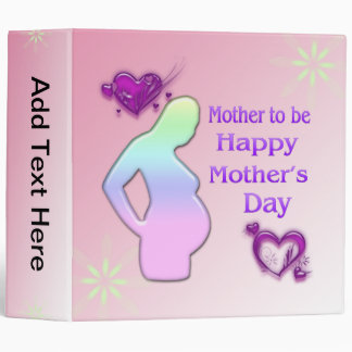 Mom To Be Mother's Day Binder