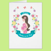 Mom -to-be Photo Card