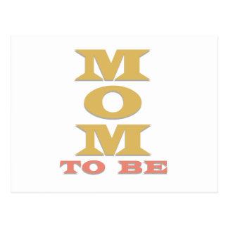 Mom to Be Postcard