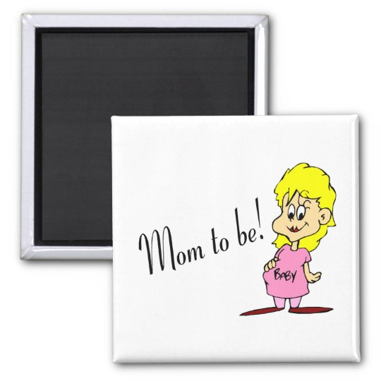 Mom To Be (Pregnant Woman) Magnet