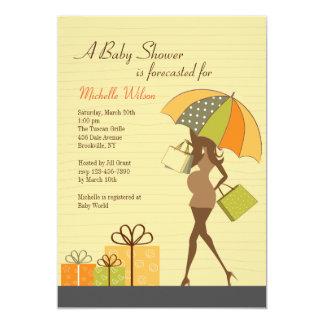 Mom-to-be Shower Invitation (Ebony)