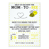Mom-to-bee Invitation