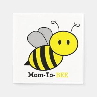 Mom-To-BEE Napkins