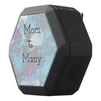 Mom To Many Black Bluetooth Speaker