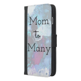 Mom To Many iPhone 6/6s Plus Wallet Case