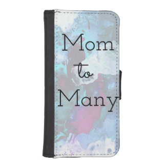 Mom To Many iPhone SE/5/5s Wallet Case