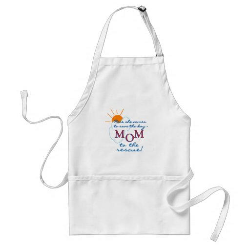 Mom to the Rescue Aprons