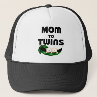 Mom to Twins (Peapod) Trucker Hat