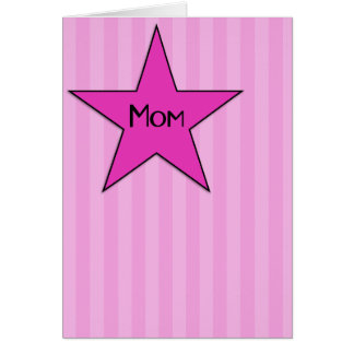 Mom U Rock! Mother's Day Card