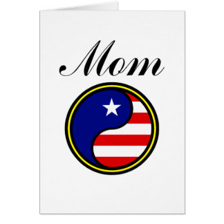 Mom (US Yin Yang) Card