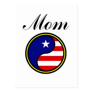 Mom (US Yin Yang) Post Cards